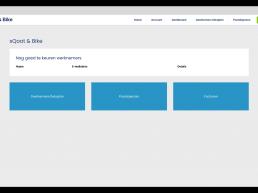 sQoot & Bike portal - werkgever dashboard