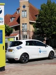 Mobipunt met deelauto in Schagen